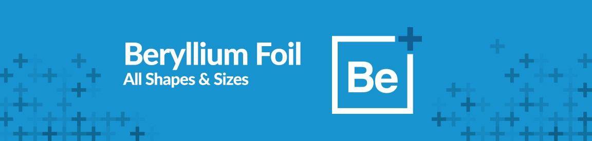 Beryllium Foil
