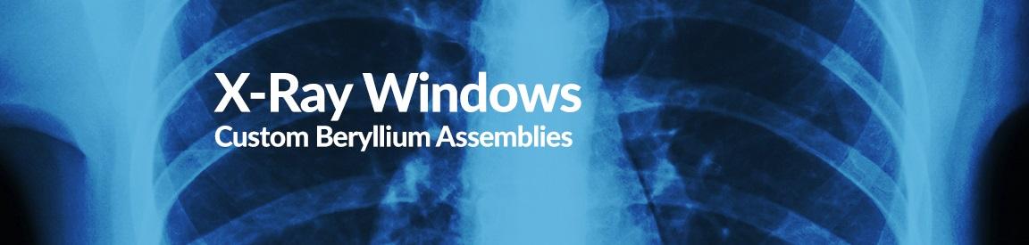 Beryllium for x-rays