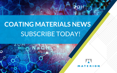 Subscribe to Coating Materials News