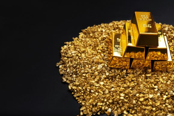 Gold refined small