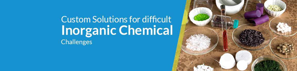 Custom Inorganic Chemical Solutions
