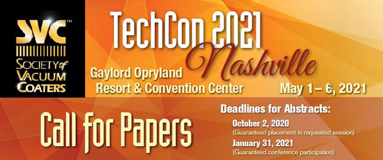 SVC 2021 Call for Papers