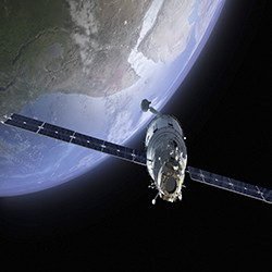iStock Satellite w Earth Web