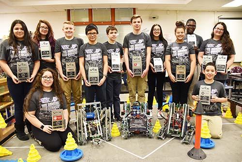 Longfellow Robotics Team Photo