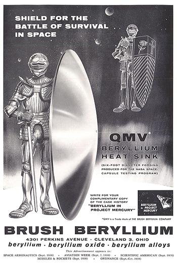 Beryllium-Heat-Sink-Materion-Mercurcy-1960