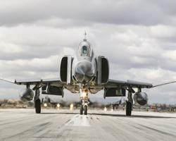 Fighter Jet on Runway
