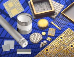 Metallization Collage