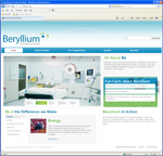 Beryllium.com Website