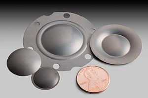 Truextent beryllium speaker domes small size