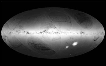 Gaia Star Map_ESA