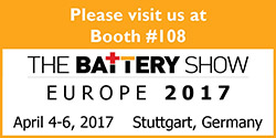 Materion Attends the Battery Show Europe 2017