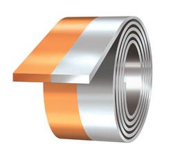 Copper Aluminum Dovetail Clad