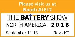The Battery Show Novi 2018 Materion