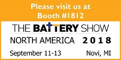 The Battery Show Novi 2018 Materion