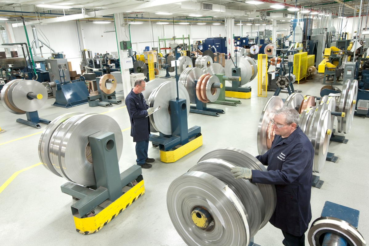 Production Floor at Materion Technical Materials Facility