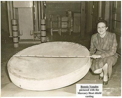Mercury Capsule Heat Shield
