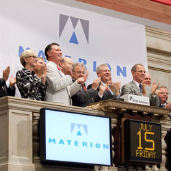 Materion on the NYSE