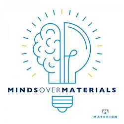 Minds Over Materials Podcast Logo