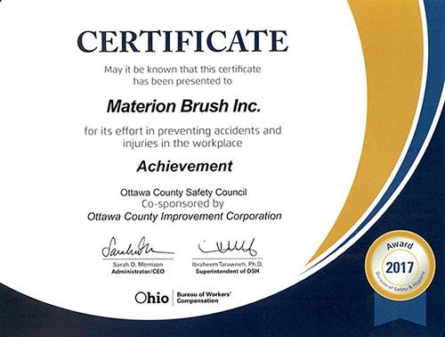 Materion Elmore Achievement