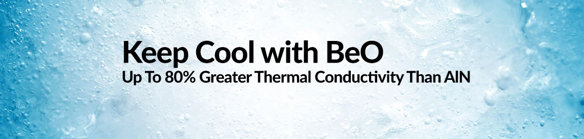 Keep Cool with BeO